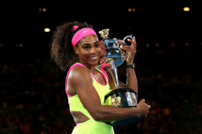 Serena wins record sixth Australian Open title