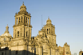 Metropolitan Cathedral in Mexico City's Centro Historico.  R H Productions/Getty Images