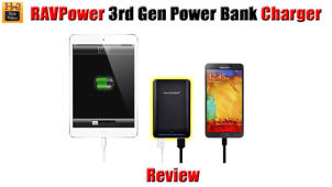 RAVPower (3rd Gen) Power Bank Charger Review