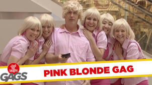Pink Blonde Prank - Throwback Thursday