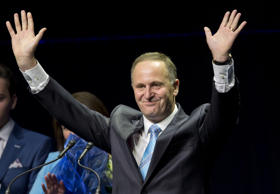 Support for Prime Minister John Key remains high at 44 per cent.