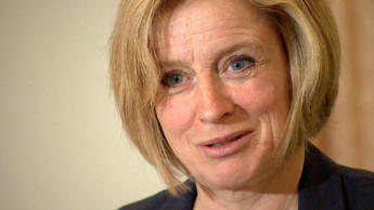 Alberta NDP leader Rachel Notley held a press conference Friday to discuss her concerns about the overdue upgrades needed at some Calgary hospitals. CBC