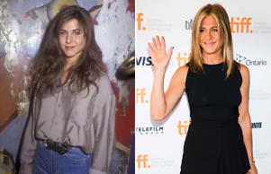 Jennifer Aniston: 1990 and 2014