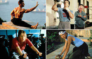 Best work out scenes from films