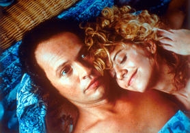 Actors: Meg Ryan and Billy Crystal Movie: When Harry Met Sally Year: 1989