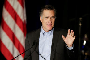 Former Republican presidential nominee Mitt Romney in San Diego, January 16, 2015.