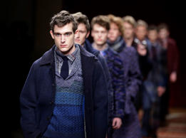 The fashion world focuses on the Italian capital to see what is hot and what is not at the Milan Men's Fashion Week that showcases the best in menswear from January 17 – 21. Click through to see new cutting-edge fashion from the 2015-2016 fall-winter collection trotting down the ramp.