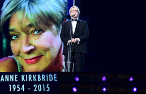 William Roache, who played Anne Kirkbride's on-screen husband, gives an emotional tribute to the star