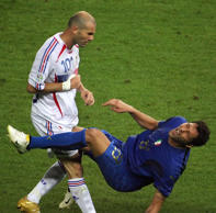 Zidane's World Cup final headbutt