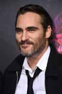 "Joaquin Phoenix arrives at the Los Angeles premiere of ""Inherent Vice"" at the TCL Chinese Theatre on Wednesday, Dec. 10, 2014. (Photo by Jordan Strauss/Invision/AP)"