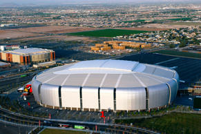 University of Phoenix stadium in Glendale, Arizona, October 30, 2014.