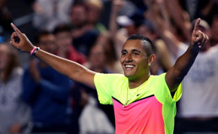 Kyrgios overcame a back injury and a two-set deficit to somehow conjure a magical 5-7 4-6 6-3 7-6 (7-5) 8-6 fourth-round triumph over Andreas Seppi.
