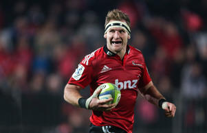 Crusaders captain Kieran Read