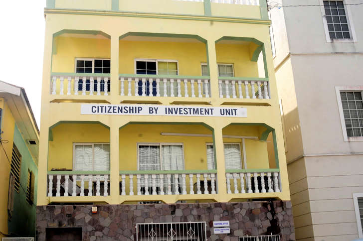 The government office that handles requests from foreigners to acquire citizenship in exchange for investment in the country, is seen in Basseterre February 10, 2012. St. Kitts and Nevis is one of three countries offering so-called citizenship by investment, burgeoning programs that bestow on foreigners the benefits of being a citizen - namely, a passport for a price. Picture taken February 10.