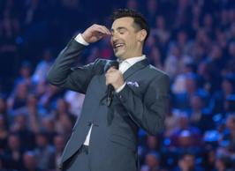 Jacob Hoggard of Hedley hosted this year's awards.