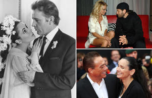 Celebs who married same person twice
