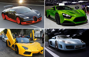Ten Most Exciting Cars in the World 2015