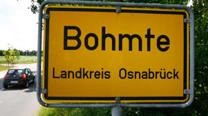 Bohmte is the first German town which took away all traffic signs, traffic lights and cross walks in the inner city area.