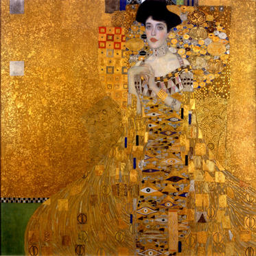 Portrait of Adele Bloch-Bauer I by Gustav Klimt (US $158 million)