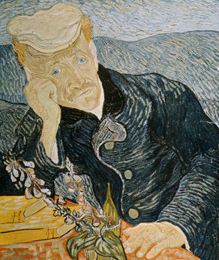 Portrait of Dr Gachet by Vincent van Gogh - £99m