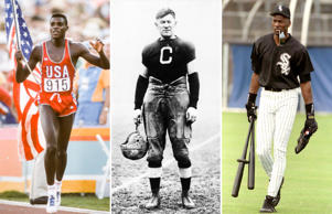 Athletes who excelled at multiple sports