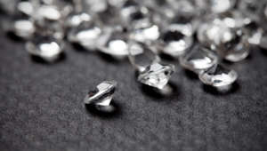 File photo of diamonds.