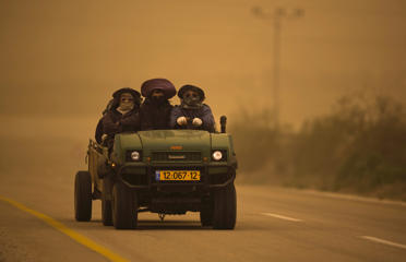 In pictures: Sandstorm roars through Middle East