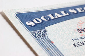 Social Security card. Getty Images