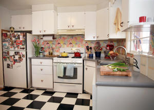 Renovated kitchen in Somerville, Mass.
