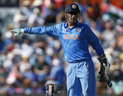 Dhoni keeps without pads against West Indies