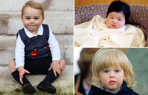 Royal babies: then and now
