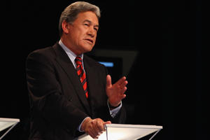 File Photo: NZ First leader Winston Peters