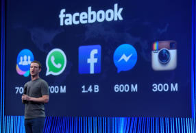 Mark Zuckerberg auf Facebooks Entwicklerkonferenz F8  |  © David Paul Morris/Bloomberg via Getty Images