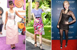 This week's A-list fashion hits and misses