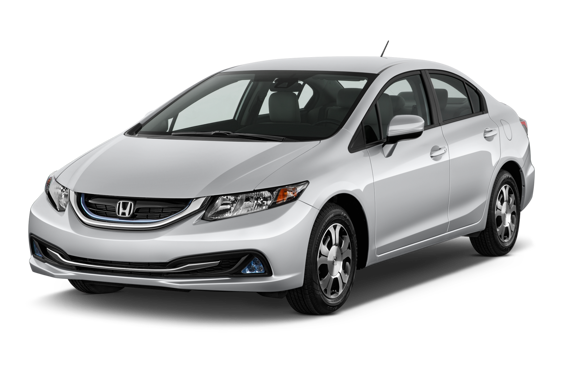 Slide 1 of 14: 2015 Honda Civic Hybrid