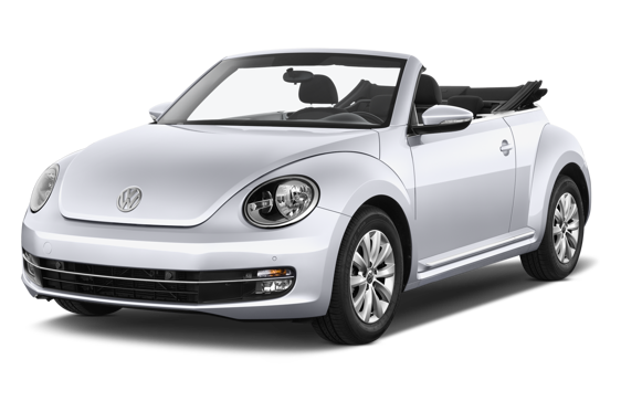 Slide 1 of 14: 2015 Volkswagen The Beetle Convertible