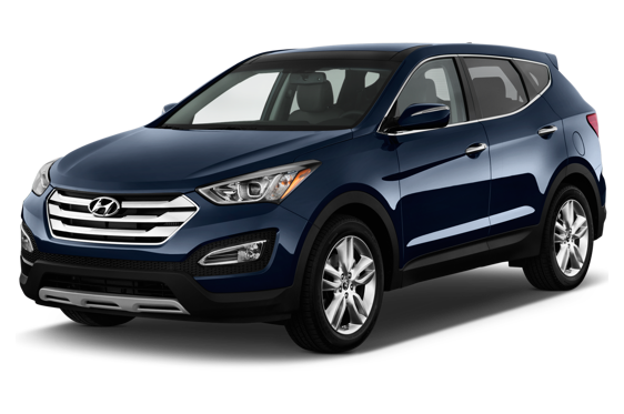 Slide 1 of 14: 2015 Hyundai Santa Fe