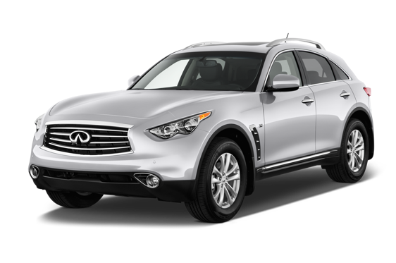 Slide 1 of 14: 2014 Infiniti QX70