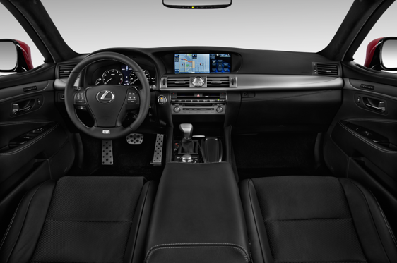 Slide 1 of 11: 2014 Lexus LS 460