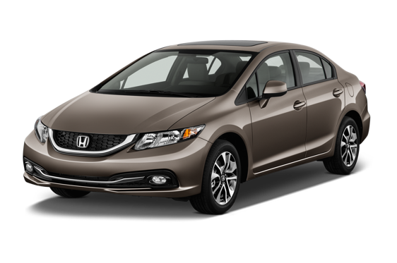 Slide 1 of 14: 2014 Honda Civic Sedan