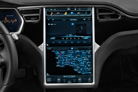 Slide 1 of 25: 2014 Tesla Model S