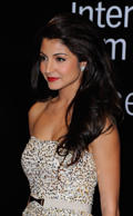 Actress Anushka Sharma attends the 'Ladies vs Ricky Bahl' premiere during day two of the 8th Annual Dubai International Film Festival held at the Madinat Jumeriah Complex on December 8, 2011 in Dubai, United Arab Emirates.