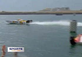 Die XCAT-Powerboat-World-Serie gastierte in Dubai.