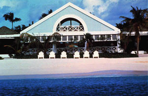 A hotel in the island of Barbuda.