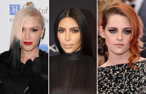 Colour chameleons: Celebs with different hair colours