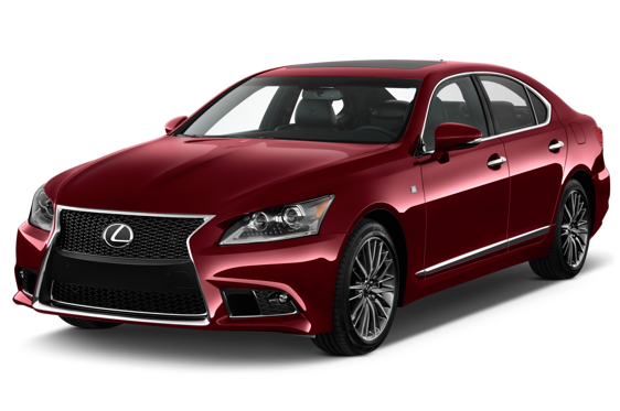 Slide 1 of 14: 2014 Lexus LS 460