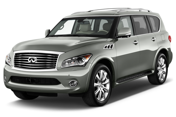 Slide 1 of 14: 2015 Infiniti QX80