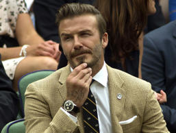 David Beckham, former football star