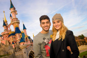 Zayn Malik and his fiancé Perrie Edwards.