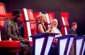 Coaches on BBC1's The Voice